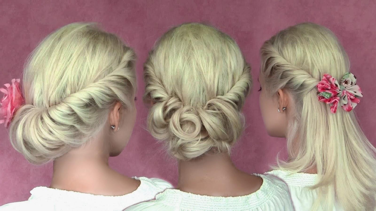 Причёски для средних тонких волос для девочек