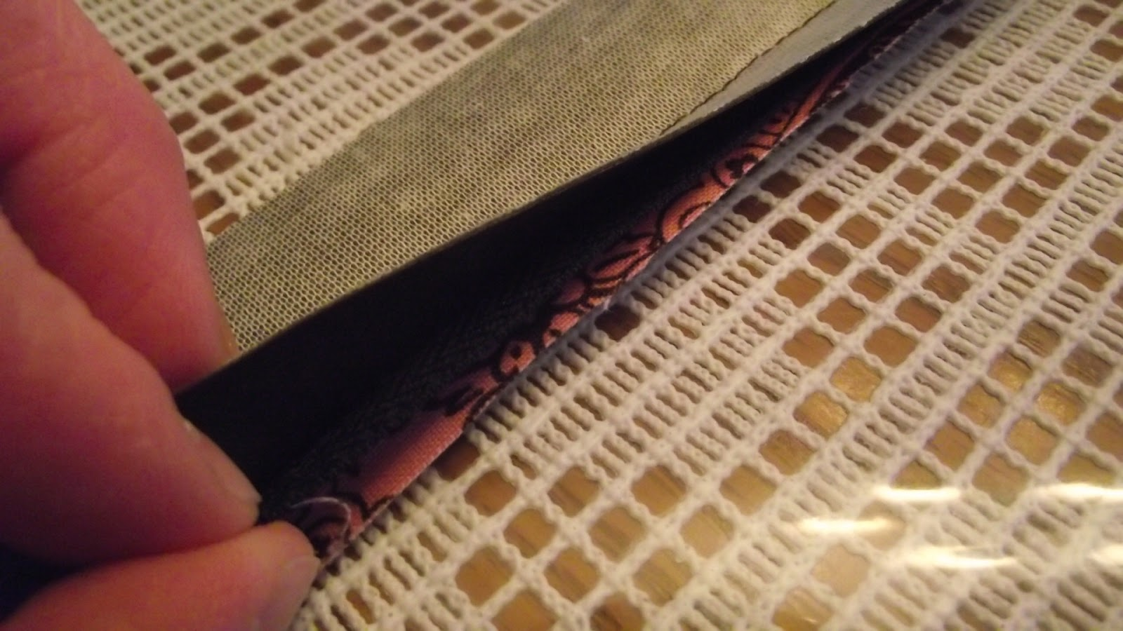 Zippered Book Cover Tutorial : Fabulous home sewn zippered book cover tutorial