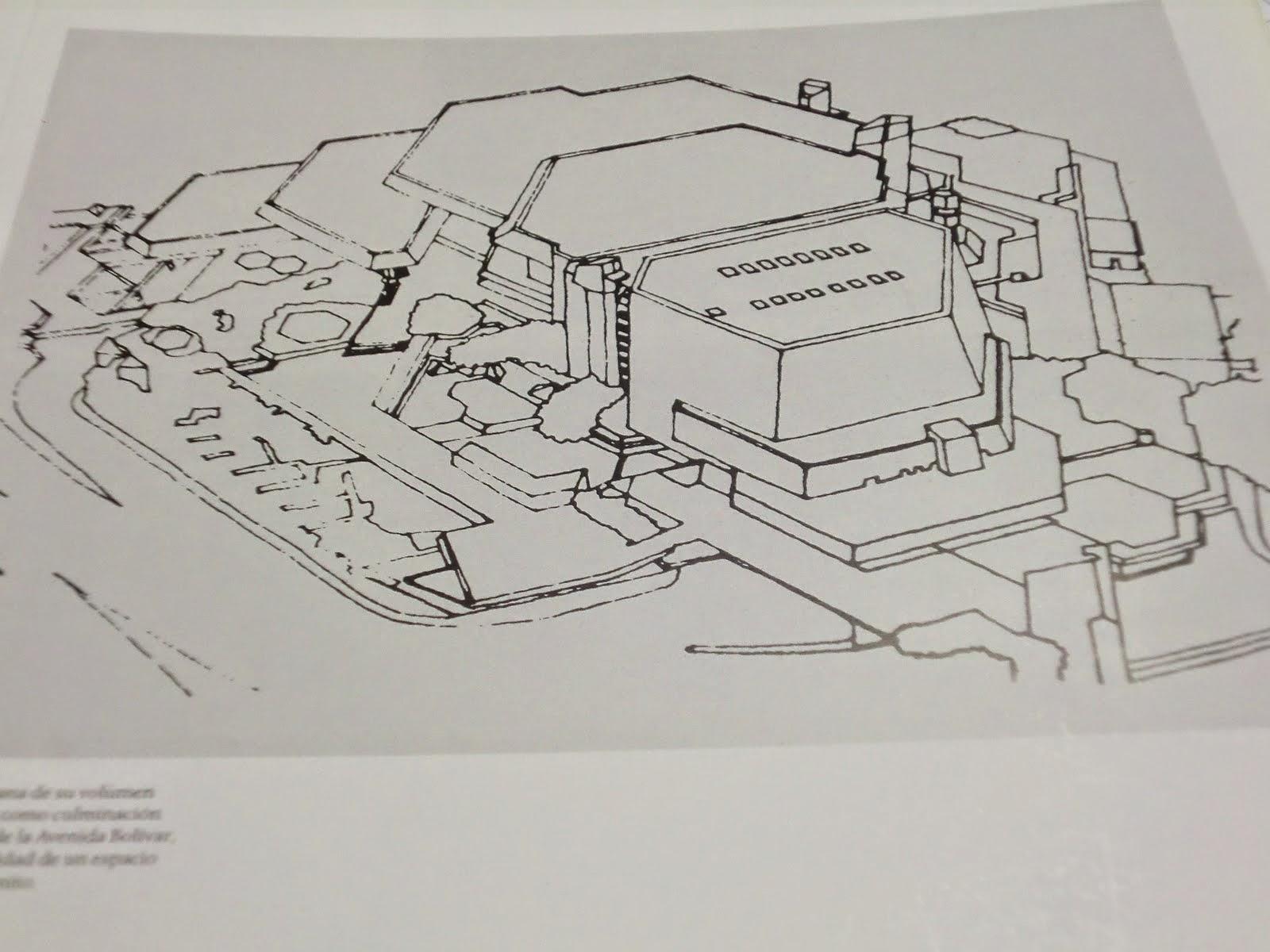Planos del Teatro Teresa Carreño