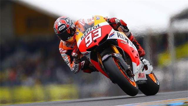 The bike of Marc Marquez