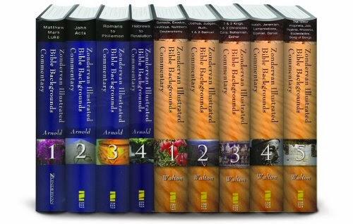 Zondervan: Comentário Bíblico Pano De Fundo Históricos. Antigo e Novo Testamento
