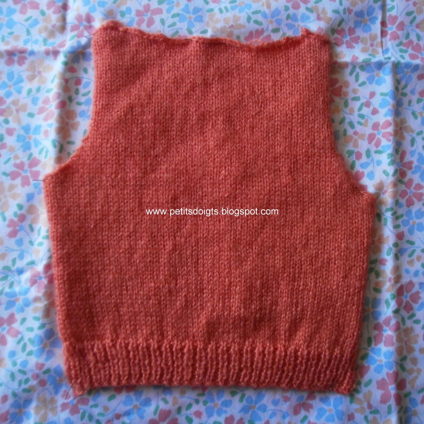 Petits doigts octobre 2012 - Faire une boutonniere au tricot ...