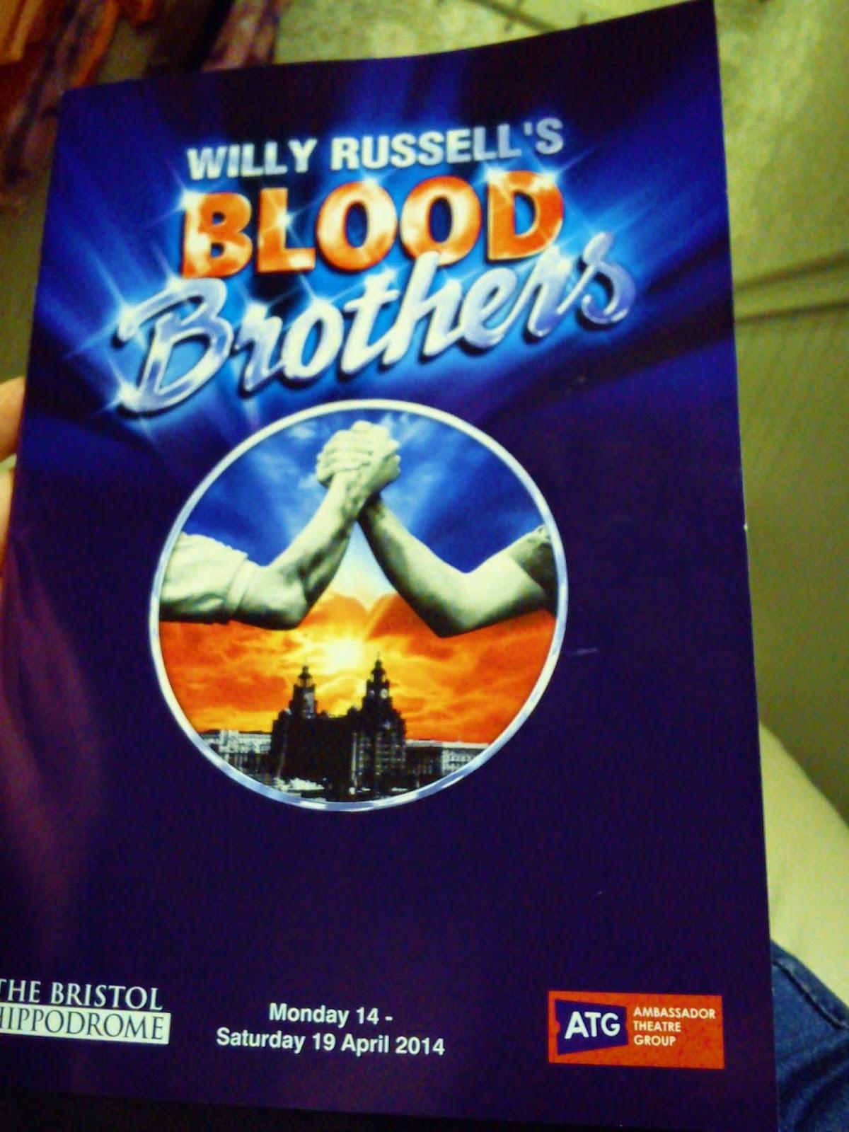 Blood Brothers Bristol Hippodrome
