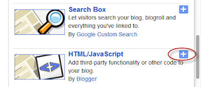 blogger html javascript widget