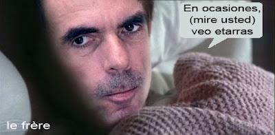 """""""Aznar"""", """"memorias"""", """"ETA"""", """"11M"""""""