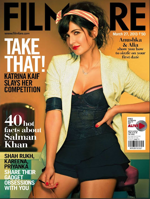 Katrina Kaif  filmfare 2013 hot