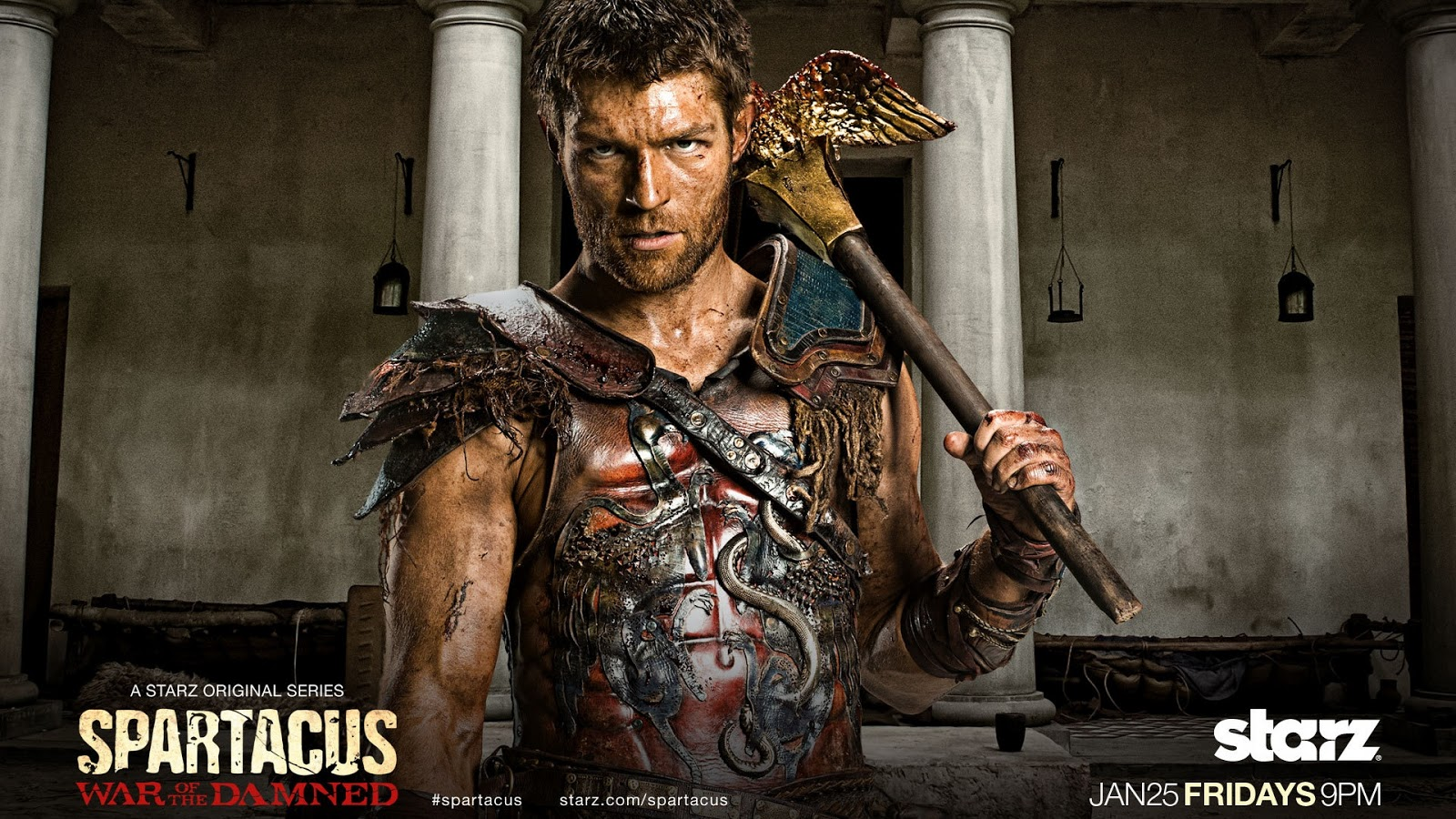 Spartacus War of the Damned TV Series