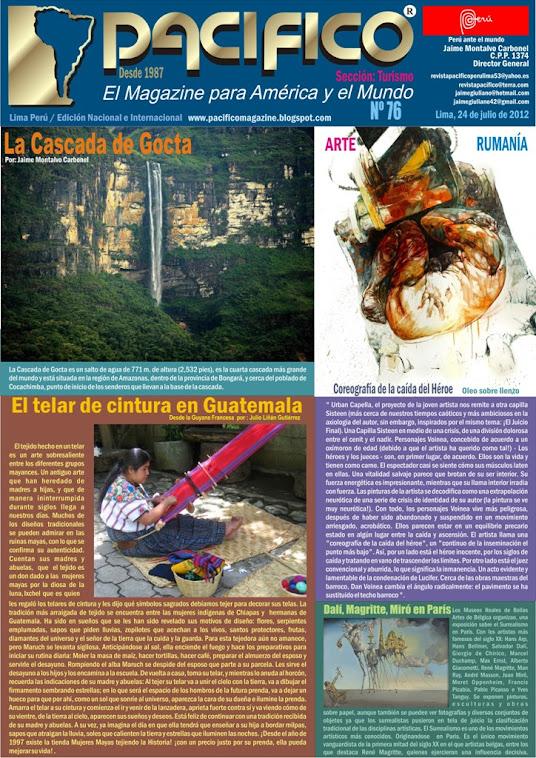 Revista Pacífico Nº 76 Turismo