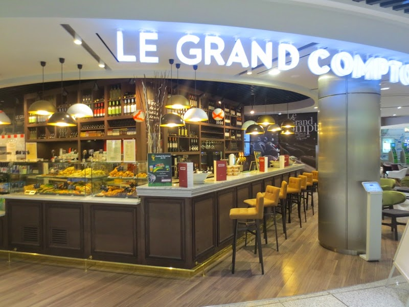 Mexil design cafe bar le grand comptoir el venizelos airport - Le grand comptoir en ligne ...