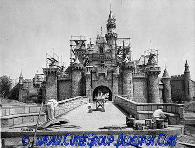 Construction of Disney World