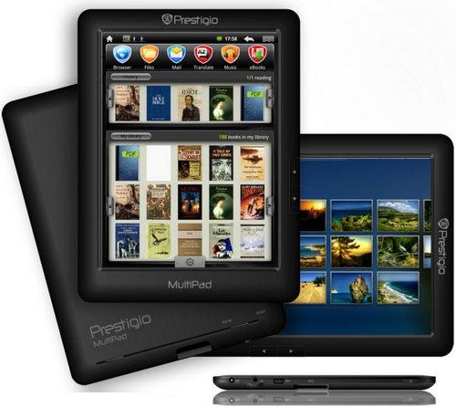 планшет букридер Prestigio MultiPad PMP3074B