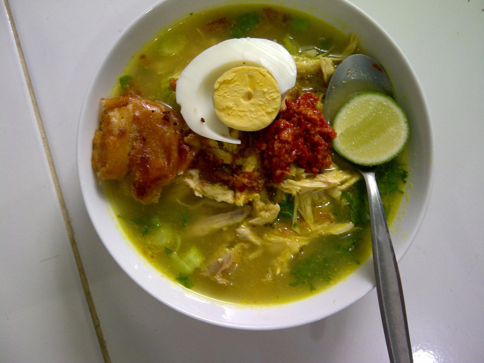 Resep Sayur Sop Ayam Bakso