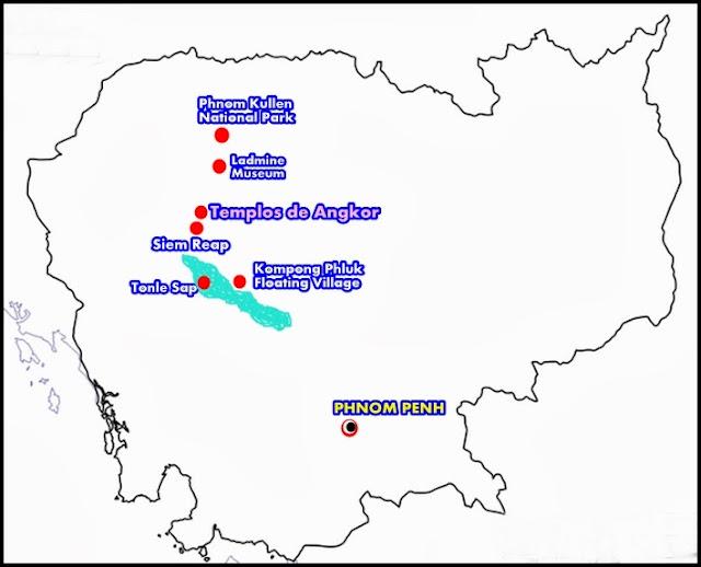 Camboya-mapa-rutas