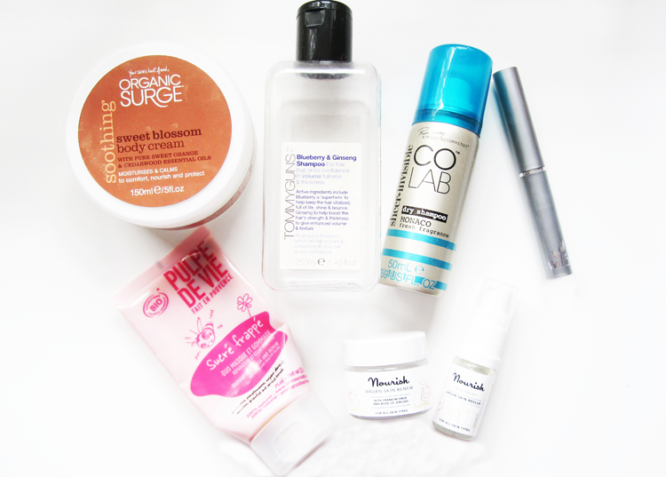 November Empties / Products I've Used Up