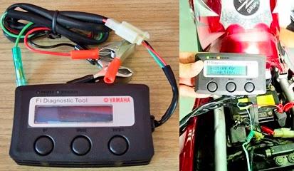 Cara Setting CO Pada Motor Injeksi Dengan FI Diagnostic Tool