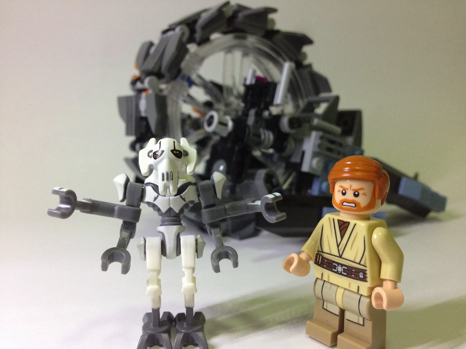 The Marriage of LEGO and Star Wars Review 75040 General Grievous