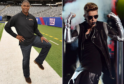 Keyshawn Johnson will not be inviting Justin Bieber over anytime soon!