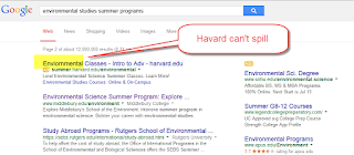 AdWords and Details: Harvard Can't Spell