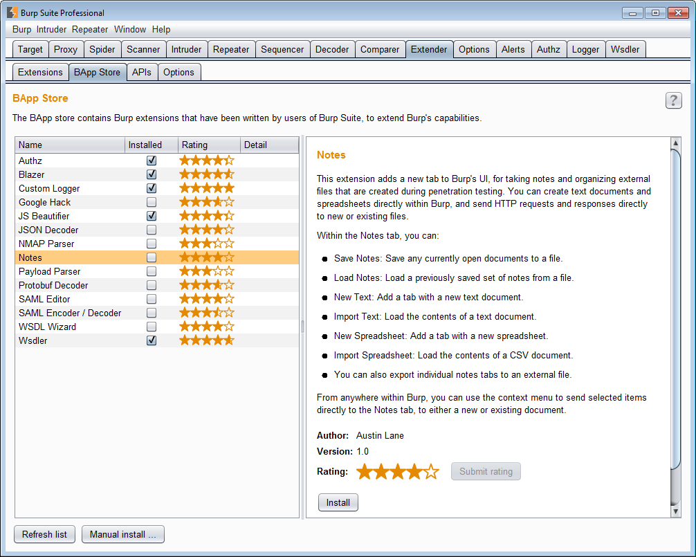Burp suite release notes v16beta this release introduces the bapp store a repository of burp extensions that have been written by users of burp suite to extend its capabilities 1betcityfo Images