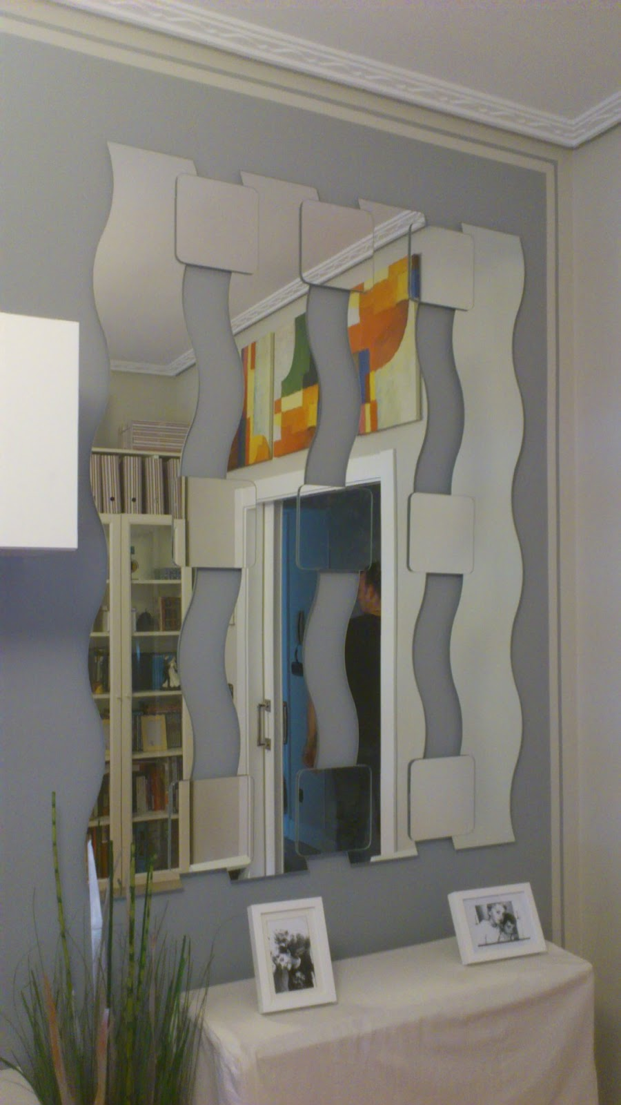 Espejo puzzle mi llave allen for Espejos grandes de pared ikea