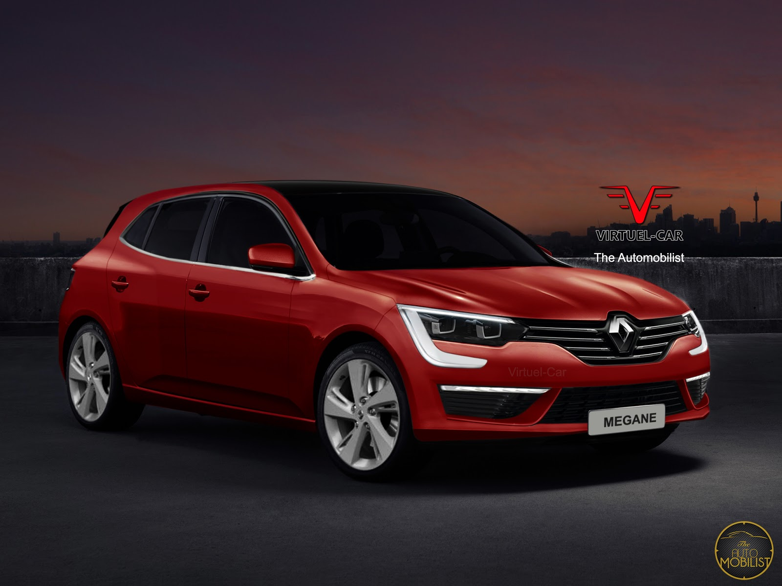 check out these renders for 2016 renault megane iv carscoops. Black Bedroom Furniture Sets. Home Design Ideas