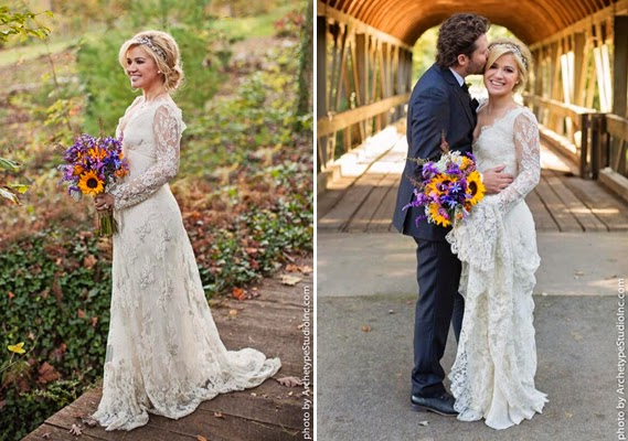 Things she loves pittsburgh wedding planners celeb gowns for Kelly clarkson wedding dress replica