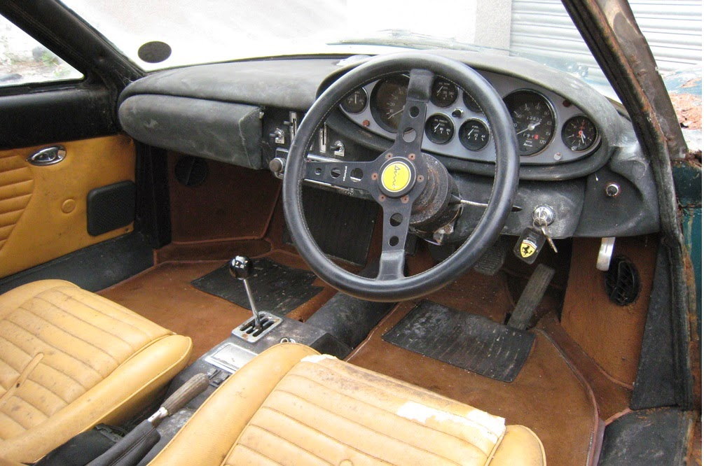 1973 Ferrari Dino Barn Find