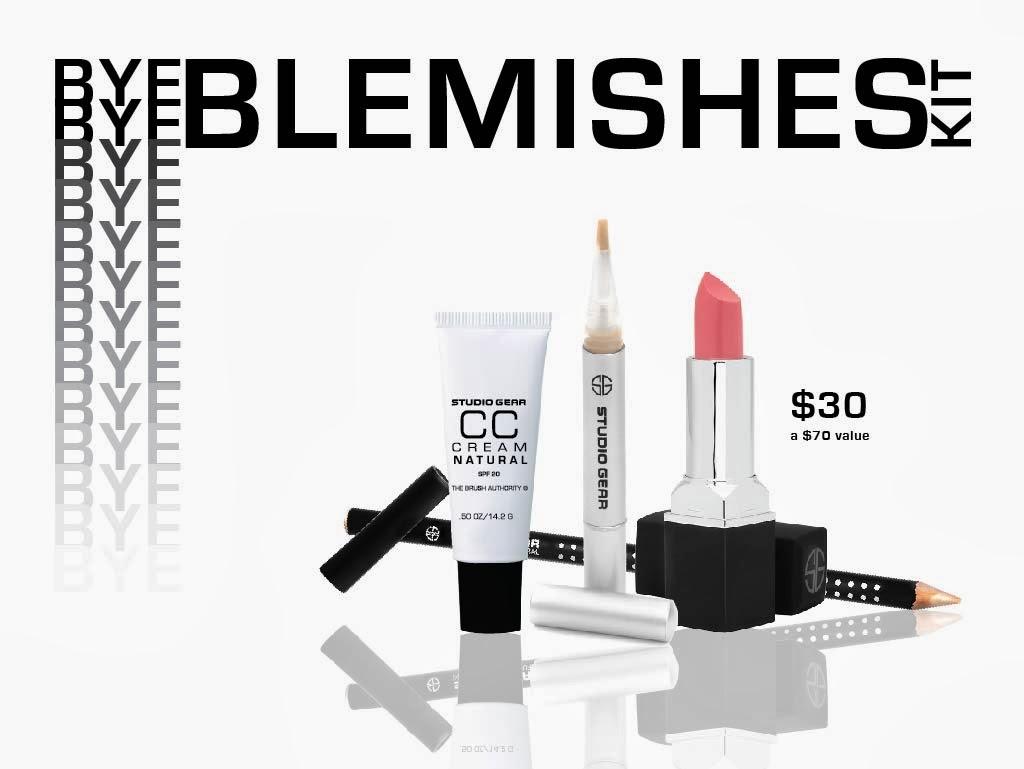 Bye Bye Blemishes