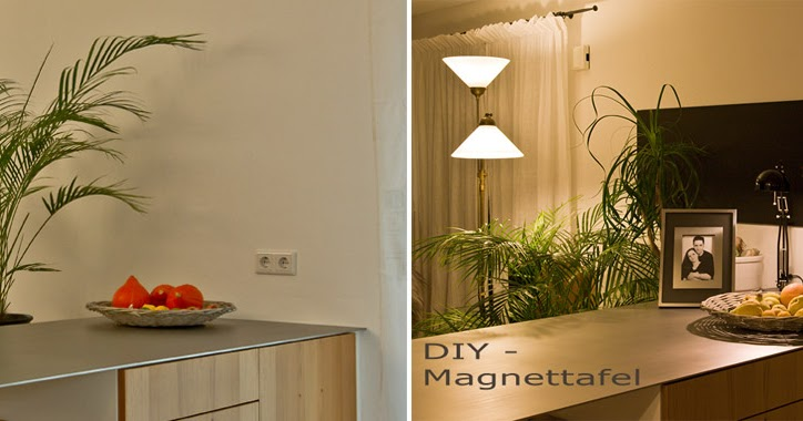 geniesser garten diy eine magnettafel selber machen. Black Bedroom Furniture Sets. Home Design Ideas