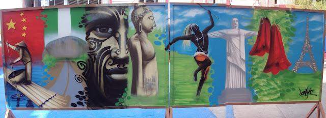 izak one graffiti artist street art chile antofagasta mural