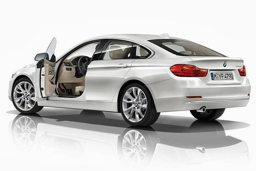 BMW 4 Series Gran Coupé Modern (2014) Rear Side