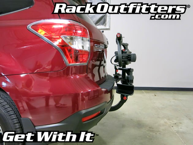 Rack Outfitters: 2015 Subaru Forester with Yakima HoldUp on Curt Hitch ...