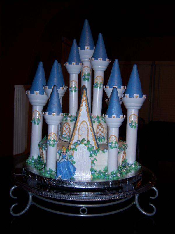 Coolest Cake Ideas: Cinderella s castle cakes recipes