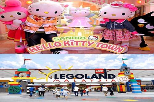 Paket Tour Legoland Hello Kitty Malaysia