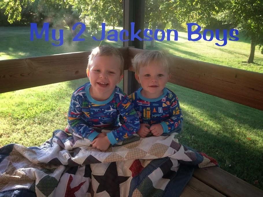 My 2 Jackson Boys