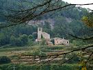 Sant Andreu de Castellcir i Cal Tomàs tot baixant des del Puig