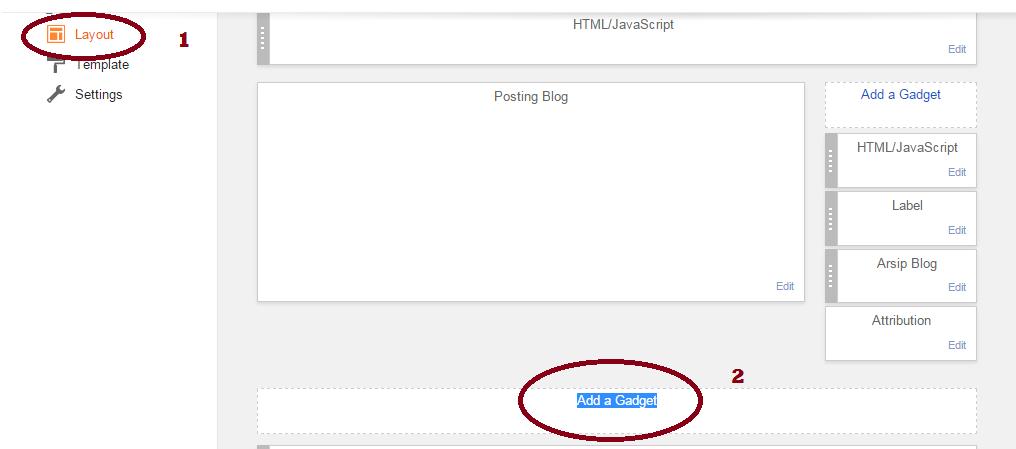 cara membuat form kontak kami pada blogspot