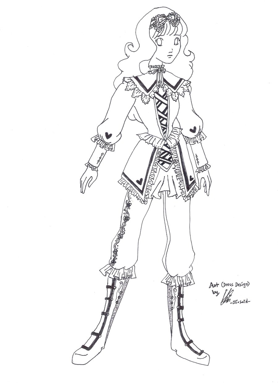 ILICarrieDoll: Dina\'s Costume Design Competition