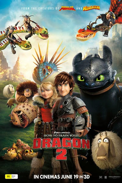 Bí Kíp Luyện Rồng 2 - How to Train Your Dragon 2 (2014) Poster