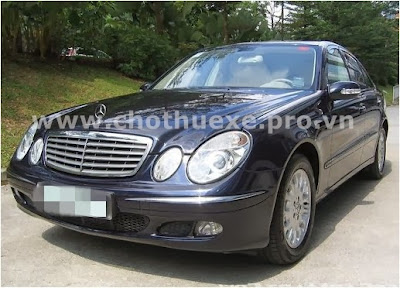 Cho thuê xe Mercedes E280 4 chỗ VIP 1