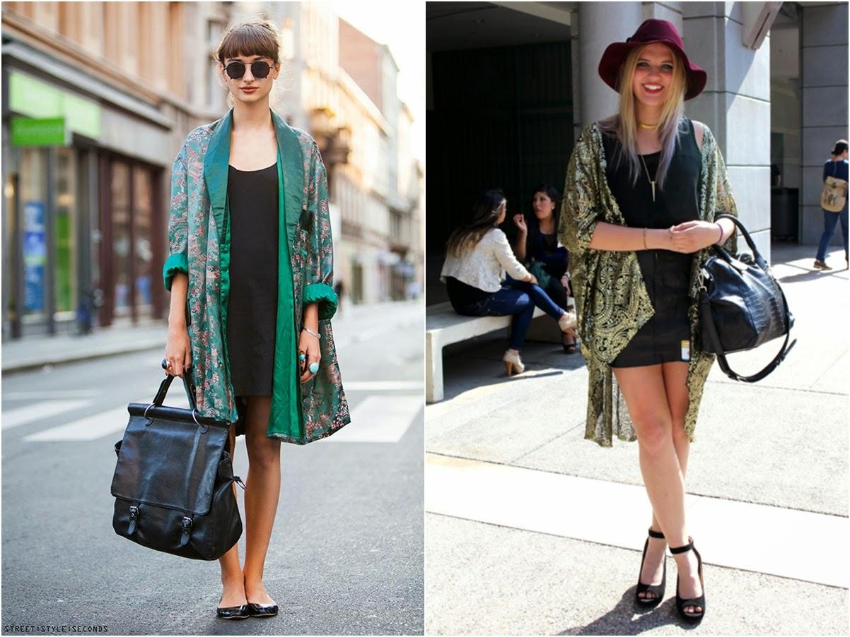 Combinar chaqueta kimono