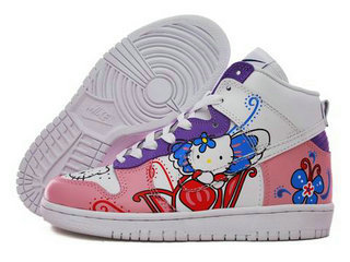 The nikes hello kitty sb can be say one good artcraft.The colors here have  one another beauty colors Purple ,that many people ...