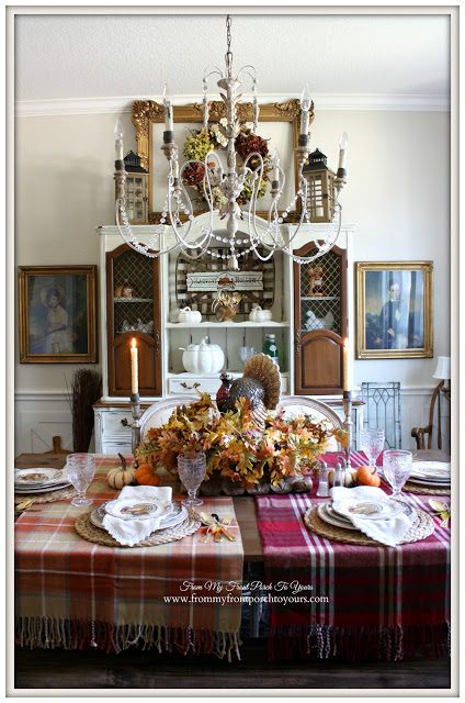 Thanksgiving Dining Room-From My Front Porch To Yours