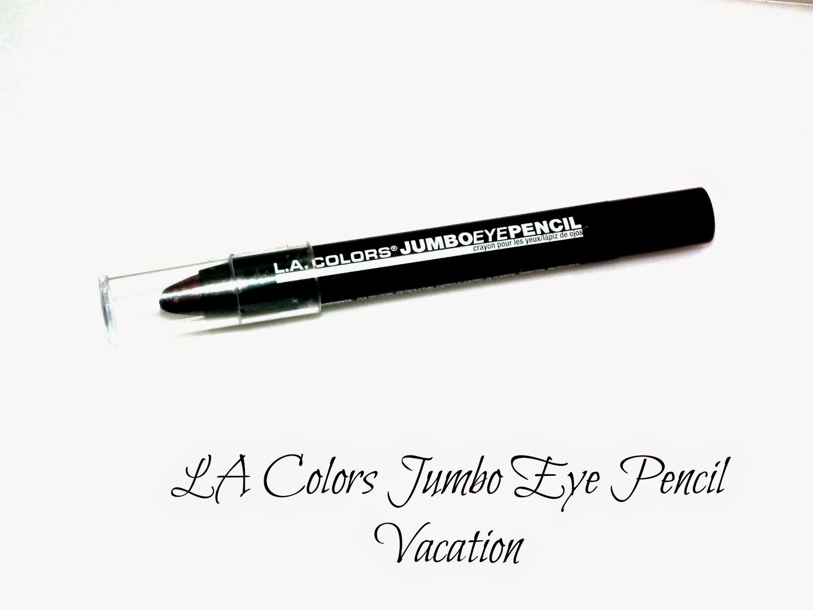 LA Colors Jumbo Eye Pencil Vacation Swatches