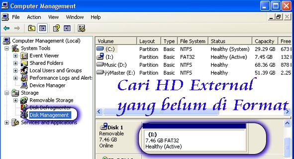 cara format HDD ps3