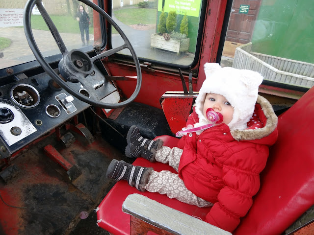 In a tractor