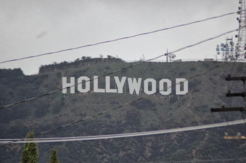 En chemin - Hollywood