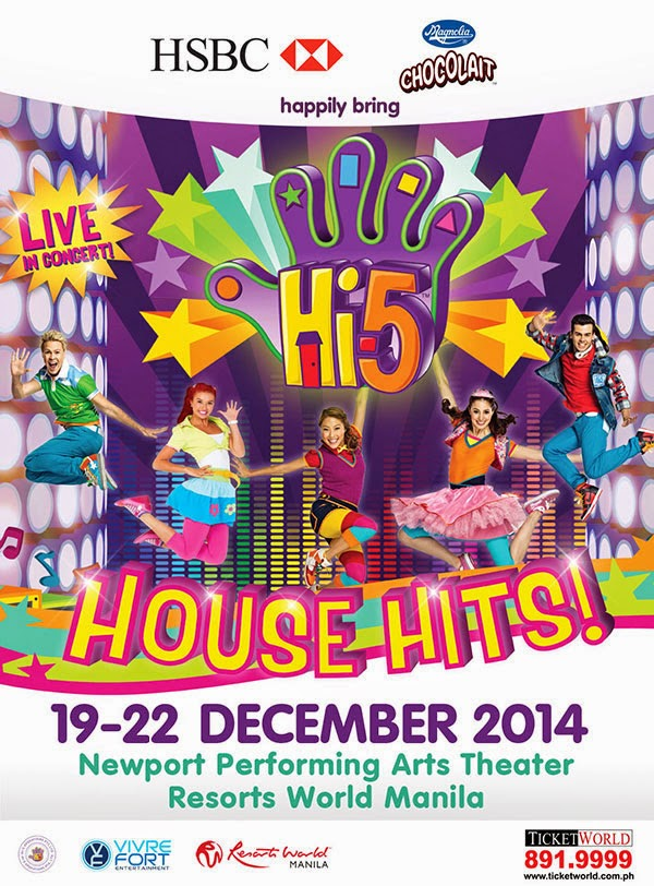 GET HI-5 HOUSE HITS TICKETS HERE!
