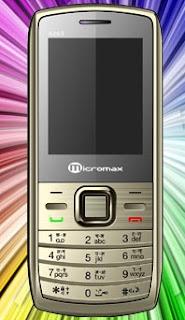 Micromax X263 Dual SIM Mobile