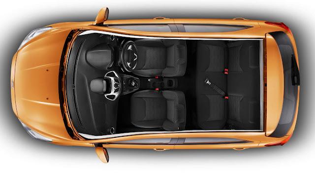 Novo Ford Ka 2016 - espaço interno